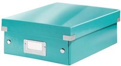 Opbergbox Leitz Click&Store A5 220x282x100mm ijsblauw.