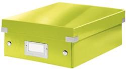 Opbergbox Leitz Click&Store A5 220x282x100mm groen.