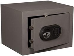 Privékluis model ET-1 afmeting buitenmaten (hxbxd) 330x450x380mm.kleur:grijs ral 7035.