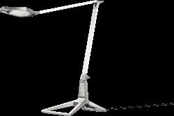 Bureaulamp Leitz Style smart LED in de kleur wit.