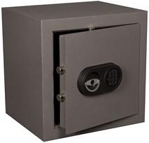 Privékluis model ET-2 afmeting buitenmaten (hxbxd) 450x450x380mm kleur:grijs RAL 7035.