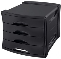 Ladenbox Europost zwart.