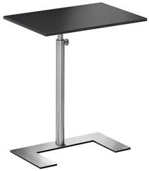 "Bijzettafel Lourens Fisher model 'For U Occasional Table"" blad 30x50cm zwart triplex MD6424AB."