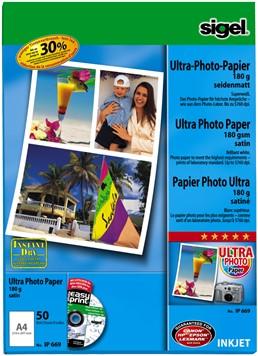 Fotopapier Sigel Ultra Paper mat A4 190 grams 50 vel (SI-IP669).
