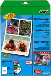 Fotopapier Sigel Ultra Paper mat A4 260 grams 20 vel (SI-IP672).