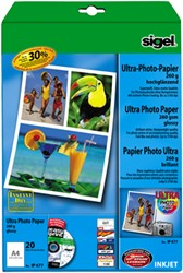 Fotopapier Sigel Ultra Paper glanzend A4 260 grams 20 vel (SI-IP677).