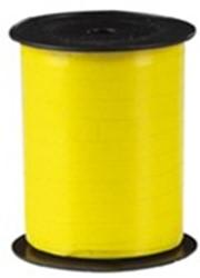 Cadeauband spoel 10mmx250meter geel kleur 02.