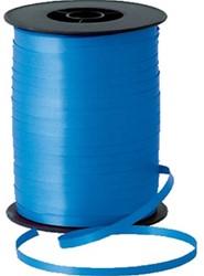 Cadeauband spoel 5mm x 500meter blauw kleur 08.