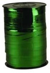 Cadeauband 10mmx250meter metallic groen kleur 09.