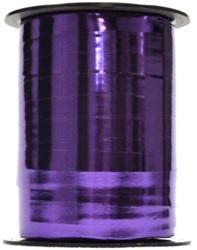 Cadeauband 10mmx250meter metallic paars kleur 17.