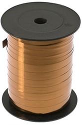 Cadeauband 10mmx250meter metallic brons kleur 19.