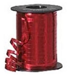 Cadeauband 5mmx500meter metallic rood kleur 07.