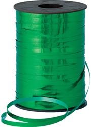 Cadeauband 5mmx500meter metallic groen kleur 09.