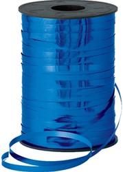 Cadeauband 5mmx500meter metallic blauw kleur 36.