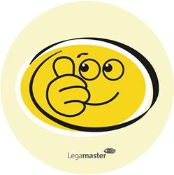 Emoticons Legamaster smile en sad 100 stuks.