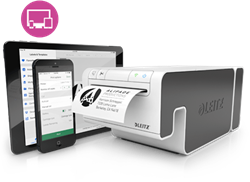 Labelprinter Leitz Icon Smart inclusief startpakket.