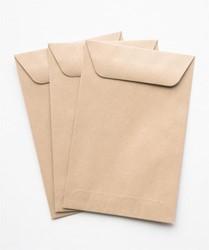 Envelop loonzak 95L Linde 95x145mm 70 grams bruin 1.000 stuks.