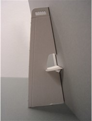 Standaard karton wit zelfklevend hoogte 29cm.