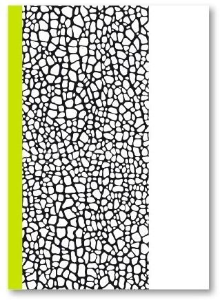 Schrift HK Kixx A4 160 pagina's 80 grams gelijnd papier met kantlijn.