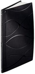 Inbindomslag Vivanto Leitz ImpressBIND A4 zwart rug 14mm 106-140 vel 10 stuks. OP=OP