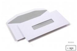 Venster envelop tbv acceptgiro 109x235mm 80 grams wit met venster midden 25x110mm 500 stuks.