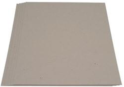 Grijsbord karton A4 700 grams dikte circa 1mm,  pak van 100 vel.