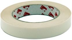 Dubbelzijdig PVC tape 19mm x 33 meter.