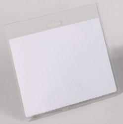 Badge Durable gesloten voor clip of koord 60x90mm. Afname per 20 stuks.