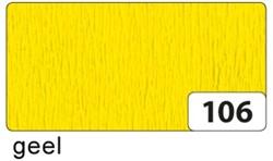 Crepepapier Folia 250x50cm #106 geel.