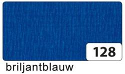 Crepepapier Folia 250x50cm #128 briljantblauw.