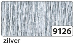 Crepepapier Folia 250x50cm #9126 zilver.
