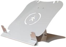 Laptopstandaard Ergomaster U-top zilver.