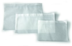 Paklijst envelop EA5/6 110x230mm blanco 250 stuks.