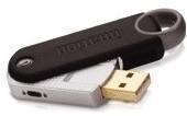 USB Stick Imation Defender F-50 8GB, voldoet aan de FIPS 140-2 niveau van het Amerikaanse Ministerie van Defensie.