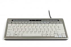 Toetsenbord Bakker-Elkhuizen S-board 840 Design Qwerty zilvergrijs.