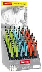 Vulpotlood Aristo AR-VD85906 0.5mm HB assorti kleuren.