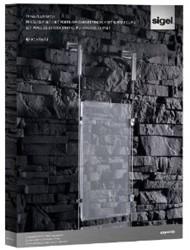 Presentatiesysteem Sigel 'Exposio' SE110 2 acrylplaat A3, 8 clips.