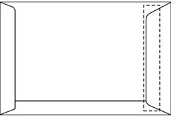 Akte envelop EA3 IJsbeer 312x441mm 120gram wit zelfklevend 250 stuks.