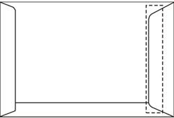Akte envelop EA3 IJsbeer 312x441mm 120gram wit zelfklevend 250stuks.