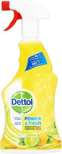 Allesreiniger Dettol Power & Fresh spray 500ml.