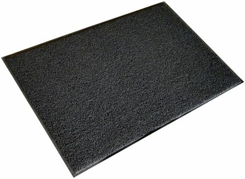 Deurmat Twistermat ideaal voor buiten 60x90cm kleur grijs.