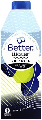 Water B Better Charcoal pak 0.75 liter. Afname per 8 pakken.