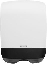 Vouwhanddoeken Dispenser Katrin Mini wit 350x248x114mm kunststof.