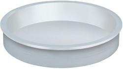 Plastic doppen los t.b.v. kartonnen koker diameter 60mm.