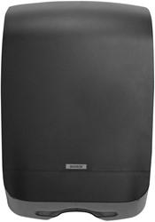 Vouwhanddoeken Dispenser Katrin M zwart 450x301x146mm kunststof.