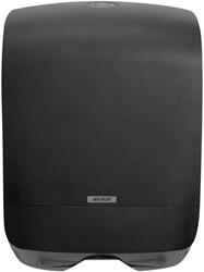 Vouwhanddoeken Dispenser Katrin Mini zwart 350x248x114mm kunststof.