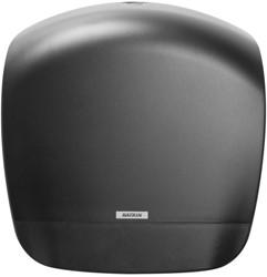 Toiletpapier Dispenser Katrin Gigant S zwart 245x239x151mm kunststof.