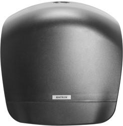 Toiletpapier Dispenser Katrin Gigant L zwart 356x342x149mm kunststof.