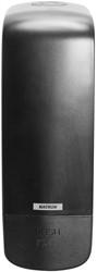Zeep Dispenser Katrin 1000ml zwart 291x100x130mm kunststof.