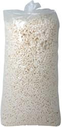 Opvulchips inhoud 500 liter (0,5m³) biologisch afbreekbaar, kleur lichtgroen.